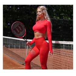 Seamless Stretch Yoga Suit