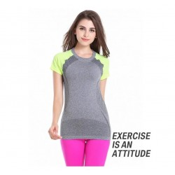 Women Fitness Clothing Dry Fit T Shirts for Training