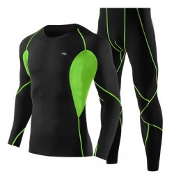 Sports Suite Fitness Tops and Pants Clothes for Men's