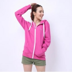 Custom Printed Cotton Spandex French Terry Light Workout Hoodie for Fitness